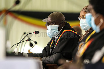 UGANDA-KAMPALA-PRäSIDENTSCHAFTSWAHLEN