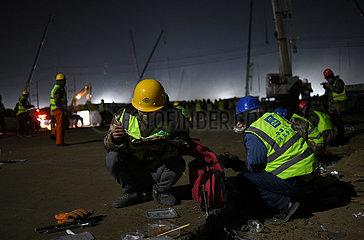 CHINA-HEBEI-SHIJIAZHUANG-COVID-19-CONSTRUCTION-BUILDER (CN)