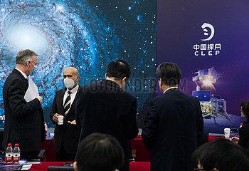 (EyesonSci) CHINA Beijing-DIPLOMATS-Monderforschungs SHOW (CN)