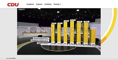 CDU Digital Party Congress
