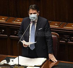 Italien-ROM-GOVERNMENT Misstrauensvotum