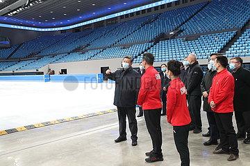 CHINA-PEKING-XI Jinping-2022 OLYMPISCHES & Paralympische Winterspiele-vorarbeiten-Prüfung (CN)