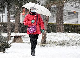 CHINA Beijing-SNOW (CN)