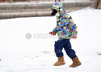 CHINA Beijing-SNOW (CN) CHINA Beijing-SNOW (CN)