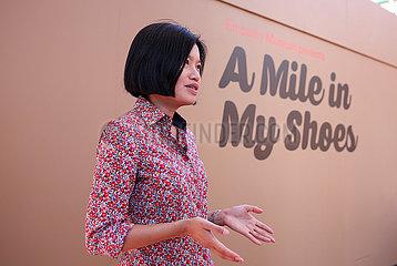 AUSTRALIA-SYDNEY Ausstellung-A Meile in meinen Schuhen