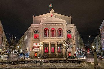 Staatstheater am Gaertnerplatz  Muenchen  Januar 2021