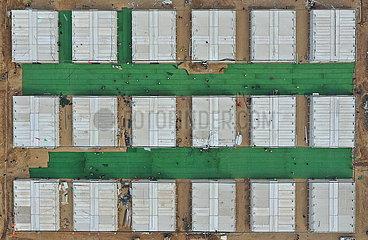CHINA-HEBEI-SHIJIAZHUANG-COVID-19-QUARANTINE CENTER-CONSTRUCTION (CN)
