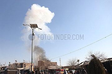 AFGHANISTAN-Uruzgan-Bombenanschlag