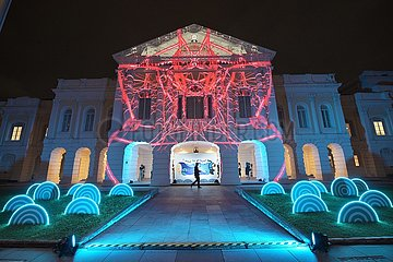 SINGAPUR-LICHT NIGHT FESTIVAL-MEDIA PREVIEW
