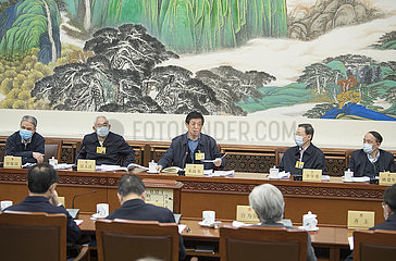 CHINA-BEIJING-LI ZHANSHU-NPC-GROUP DISCUSSION (CN)