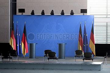 Blaue Wand Kanzleramt