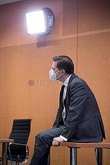 Steffen Seibert  Kabinett