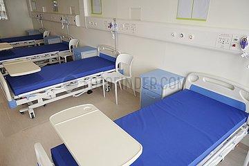 CHINA-Hongkong TEMPORARY HOSPITAL Completion (CN)
