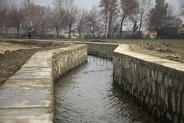 AFGHANISTAN-NANGARHAR-WATER CANAL-COMPLETION