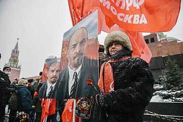 RUSSLAND-MOSCOW-LENIN-JAHRESTAG