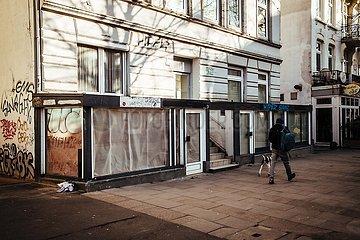 Ladensterben in der Coronakrise im Stadtteil Eimsbuettel