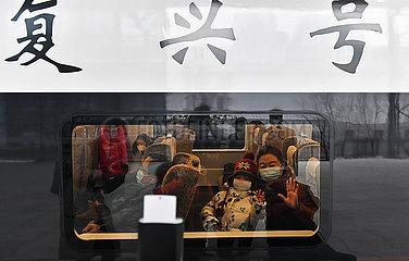 CHINA-HARBIN-PEKING-Hochgeschwindigkeits-Eisenbahn-OPERATIONAL (CN)