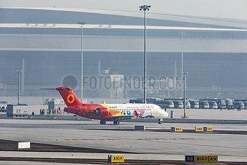 CHINA-SICHUAN-CHENGDU TianFu INTERNATIONAL Airport-FLIGHT TEST (CN)