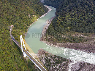 CHINA-TIBET-Landstraßen-HIGH-GRADE ROADS (CN)
