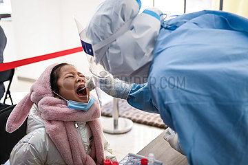 CHINA-JILIN-CHANGCHUN-NUCLEIC ACID TESTING (CN)
