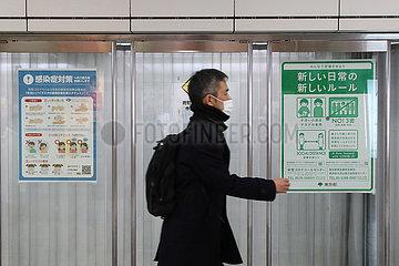 JAPAN-COVID-19-FÄLLE JAPAN-COVID-19-FÄLLE