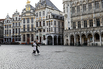 BELGIUM-BRUSSELS-COVID-19-TRAVEL BAN
