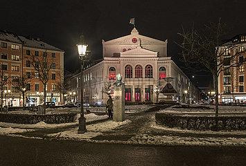 Gaertnerplatz  Staatstheater am Gaertnerplatz  Muenchen  Januar 2021