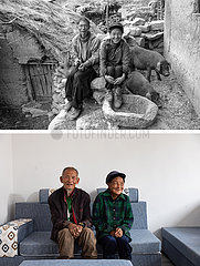 (POVERTY RELIEF ALBUM) CHINA-SICHUAN-ABULUOHA-VILLAGERS-BEFORE & AFTER (CN)