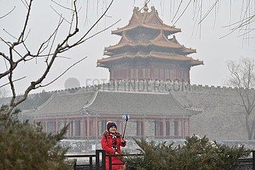 CHINA-BEIJING-SNOWFALL (CN)