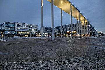 Einkaufszentrum Riem Arcaden  Messestadt Riem  Muenchen  Januar 2021