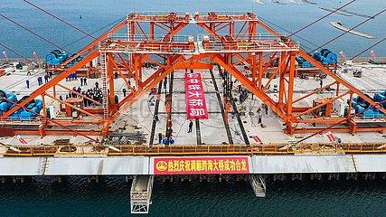 CHINA-GUANGDONG-ZHANJIANG-TIAOSHUN BRIDGE-CLOSURE (CN)