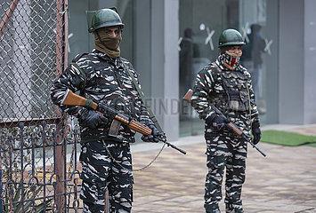 KASHMIR-SRINAGAR-INDIA REPUBLIC DAY-SECURITY