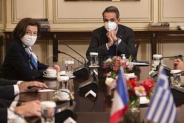 GRIECHENLAND-ATHEN-PM-FRANCE-MINISTER-RAFALE JET DEAL
