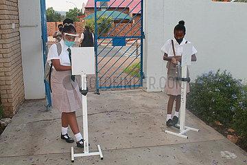NAMIBIA-WINDHOEK-SCHOOL REOPEN