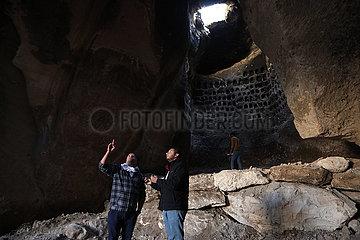 MIDEAST-HEBRON-ALTE CAVE