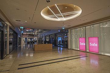 Einkaufszentrum Riem Arcaden  Muenchen  Januar 2021