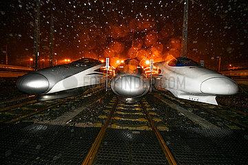CHINA-GUIZHOU-GUIYANG-TRAIN MAINTENANCE (CN)