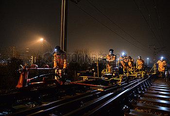 CHINA-ANHUI-WUHU-RAIL GRINDING (CN)