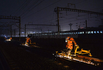 CHINA-ANHUI-WUHU-RAIL GRINDING (CN)