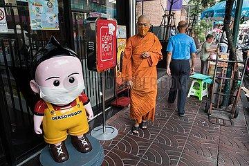 THAILAND-BANGKOK-COVID-19