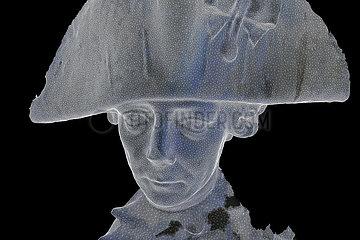 CGI-Visualisierung: Portrait: Friedrich der Grosse