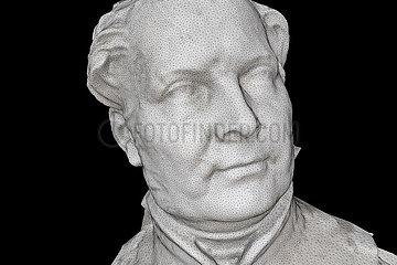 CGI-Visualisierung: Portrait Friedrich Wilhelm IV