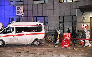 CHINA-JILIN-Tonghua-COVID-19-PATIENTEN-Entladung (CN)