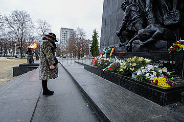 POLAND-WARSAW-INT'L HOLOCAUST REMEMBRANCE DAY-COMMEMORATION