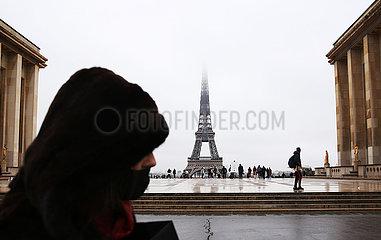 FRANCE-PARIS-COVID-19-CASES