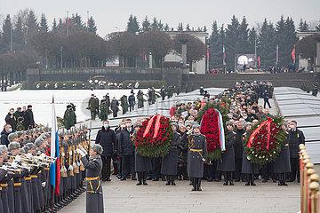 RUSSLAND-ST. PETERSBURG-Blockade Leningrads JUBILÄUM