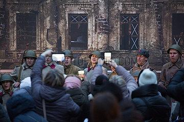 RUSSLAND-ST. PETERSBURG-Blockade Leningrads-GEDENKEN