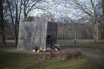 Memorial to Nazi-Era Persecuted Homosexuals in Berlin