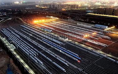 CHINA-HENAN ZHENGZHOU-SPRING-FEST-TRAVEL Binsen ZUBEREITUNG (CN) CHINA-HENAN ZHENGZHOU-SPRING-FEST-TRAVEL Binsen ZUBEREITUNG (CN)
