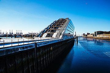 Dockland an der Elbe
